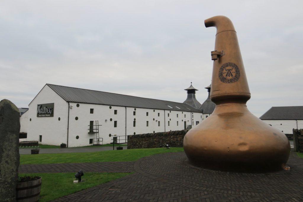 Ardeg Whisky Distillery on Islay